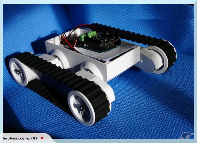 Diy arduino wireless robotic platform mars rover trade me