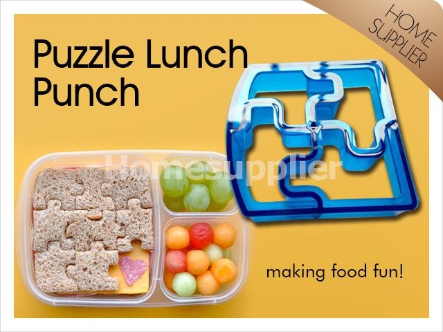 Puzzle Lunch Punch, Sandwich Cutter