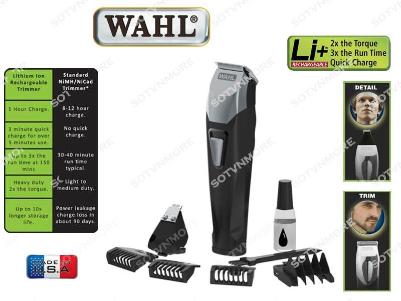 wahl lithium ion beard trimmer made in usa trade me. Black Bedroom Furniture Sets. Home Design Ideas