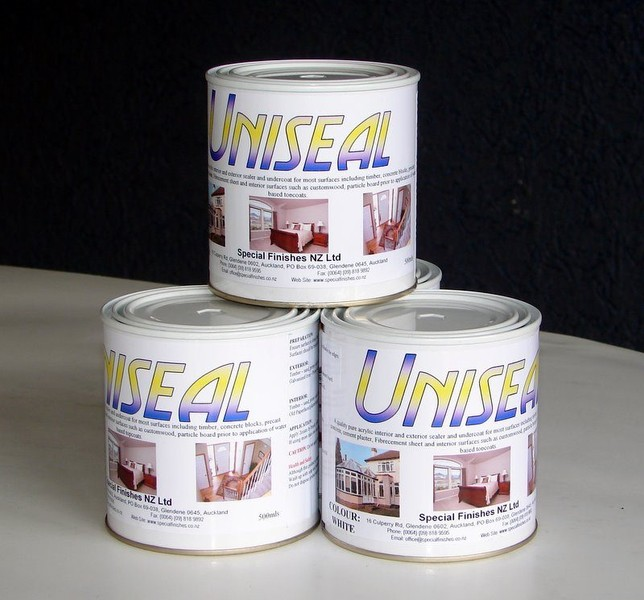 Uniseal Acrylic Sealer Undercoat Int Ext 500ml Trade Me