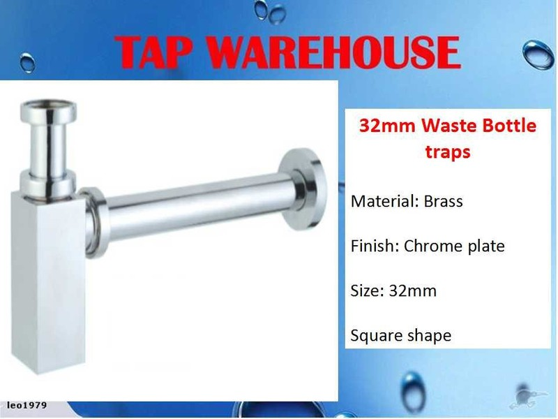 tapwarehouse square waste bottle traps chrome trade me