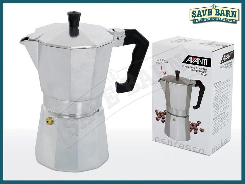 AVANTI Espresso 9 Cup Coffee Maker Stovetop Moka Pot Trade Me