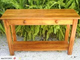Solid Rimu hall table