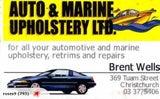 Jet boat seats Auto&Marine Upholstery