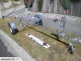 T BAR BOAT TRAILER - WITH KEEL ROLLERS