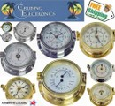 Brass Clocks + Parts ROYAL MARINER® -also Plastimo