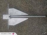 4kg Galvanised Danforth Anchor