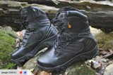 **TACTICAL MILITARY BOOT**BLACK LEATHER**