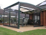 Awesome awnings for permanent sun shade shelter