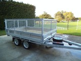 TRAILERS TIPPING - MUSTANG BRAND