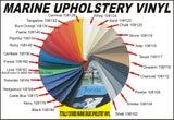 MARINE UPHOLSTERY VINYL - 24 colours