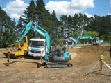 Earthmoving, digger & Truck hire