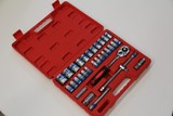 "1/2"" 32pcs DR Socket Wrench Set HOT DEAL $1 RES"