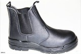 Safety Boots Slip On Steel Toe 6,7,8,9,10,11,12