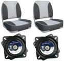 Deluxe Folding Seats & swivels