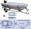 Boat Cover, Tinnie. *Trailerable* 3.9 to 4.1M
