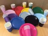 Hot Pink Paper Cups x 6 Units