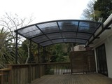 Curved Pergolas, New Homes, Renovations