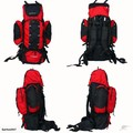 Backpack 70L - Red