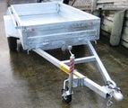 Box/garden trailer 8x4Heavy Duty AAKRON new