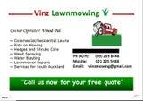 VINZ LAWNMOWING