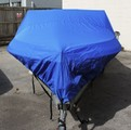 17-19ft 600D Marine Grade Trailerable Boat Cover