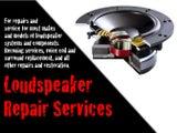Speaker & Audio Repairs