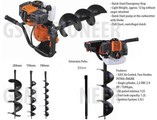 Brand new 52cc AUGER EARTH POST HOLE DIGGER SET