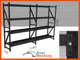 1000KG Garage Storage Shelving Black 3mx2mx0.5m