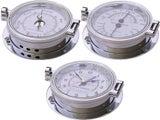 Royal Mariner® LARGE Time & Tide Clock +Baro +Thermo/Hygro