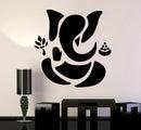 Wall Stickers/Vinyl Wall Decal Abstract Ganesha Hindu wall arts