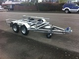 Chassis Trailer Tandem Axle
