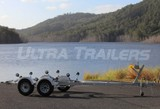 Heavy Duty Boat Trailer for 17ft to 18ft ( 5.2 to 5.8m ) Boats
