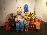 Full Size Simpsons Family
