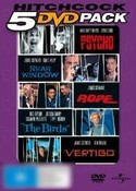 5 Disc Value Pack Hitchcock: Rear Window, Birds, Psycho, Vertigo, Rope