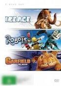 Ice Age / Garfield / Robots (Gift Triple)