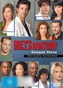 Grey's Anatomy: The Complete Three Season (Seriously Extended)