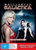 Battlestar Galactica:  Season 1 (Metal Slipcase)