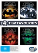 Batman (1989)/Batman Returns (1992)/Batman Forever (1995)/Batman and Robin (1997) (1 Disc Special Editions)