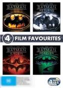 Batman (1989)/Batman Returns (1992)/Batman Forever (1995)/Batman and Robin (1997) (1 Disc Special Editions)