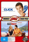 2 Movie Pack (50 First Dates / Click)