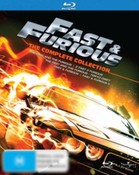 Fast and Furious Complete Collection 1-5 (The Fast and the Furious)