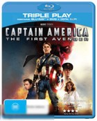 Captain America: The First Avenger (Blu-Ray/DVD/Digital Copy)