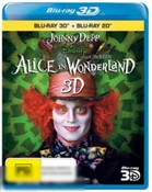 Alice In Wonderland (Live Action) (3D BD/BD)