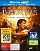Immortals (3D Blu-ray/Blu-ray/Digital Copy)