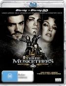 The Three Musketeers (2011) (3D Blu-ray/Blu-ray)