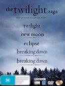 The Twilight Saga: Complete Collection (5 Disc Boxset)