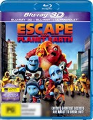 Escape From Planet Earth (3D Blu-ray/Blu-ray/UV) (3D for 3D TV's only)