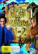 Night At The Museum 1 And 2 (Christmas Card Packaging)