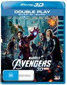 The Avengers (2012) (Marvel) (3D Blu-ray/Blu-ray)